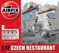 Airfix A75016 Czech Restaurant 1:72 Scale Model Kit