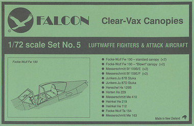 Falcon Clearvax Set 5