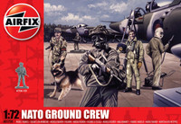 Airfix A01758 Nato Ground Crew  1:72 Scale Figures