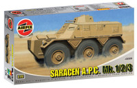 Airfix A02328 Saracen A.P.C. Mk. 1/2/3  1:76 Scale Model Kit