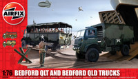 Airfix A03306 Bedford QLT And Bedford QLD Trucks 1:76 Scale Model Kit