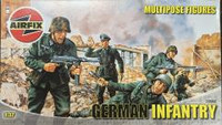 Airfix A03582 German Infantry Multipose Figures 1:32 Scale Model Kit
