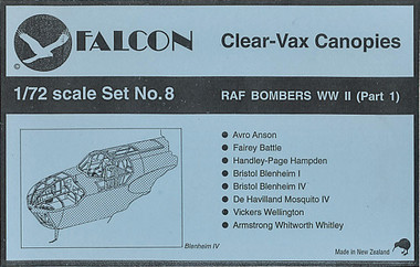 Falcon Clearvax Set 8