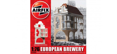 Airfix A75008 European Brewery 1:76 Scale Scenic Accessories