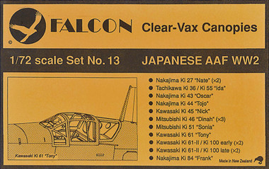 Falcon Clearvax Set 13
