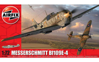 Airfix A01008A Messerschmitt Bf109E-4 1:72 Scale Model Kit