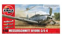 Airfix A05120B MESSERSCHMITT Bf109E-4/E-1 1:48 scale model kit