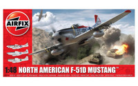 Airfix A05136 North American F51-D Mustang 1:48 scale model kit