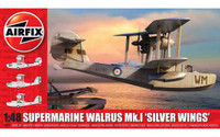 Airfix A09187 Supermarine Walrus Mk I 'Silver Wings' 1:48 scale model kit
