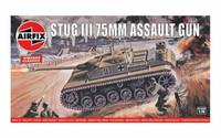 Airfix A01306V - Vintage Classics - Stug III 75mm Assault Gun 1:76 Scale
