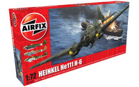 Airfix A07007 Heinkel He.111 H-6 1:72 Scale Model Kit