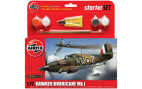 Airfix A55111 Hawker Hurricane MkI Starter Set 1:72 Scale Model Kit