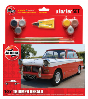 Airfix A55201 Triumph Herald Starter Set 1:32 Scale Model Kit