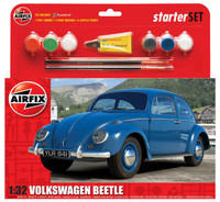 Airfix A55207 VW Beetle Starter Set 1:32 Scale Model Kit
