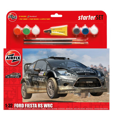 Airfix A55302 Ford Fiesta WRC Starter Set 1:32 Scale Model Kit