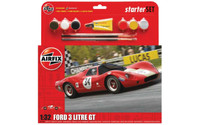 Airfix A55308 Ford 3 Litre GT Starter Set 1:32 Scale Model Kit