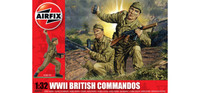 Airfix A02705 WWII British Commandos 1:32 Scale Model Kit
