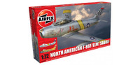 Airfix A03082A North American F-86F Sabre 1:72 Scale Model Kit