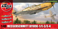 Airfix A05120 Messerschmitt 109E 1:48 Scale Model Kit