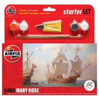 Airfix A55114 Starter Set Mary Rose 1:400 Scale Model Kit