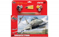 Airfix A50098 Eurofighter Typhoon Starter Set 1:72 Scale Model Kit