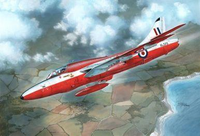 Xtrakit XK72013 Hawker Hunter T.7 1:72 Scale Model Kit