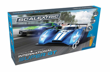 Scalextric C1369 International Super GT 1:32 Analogue Slot Car Race Ready Set