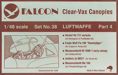 Falcon Clearvax Set 38