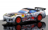 Scalextric C3839 Team GT Spartan (Anime) 1:32 slot car
