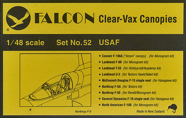 Falcon Clearvax Set 52