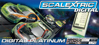 Scalextric C1330 Digital Platinum Set  Slot Car Race Ready Set