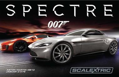 Scalextric C1336 James Bond Spectre Slot Car Race Ready Set