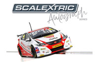 Scalextric C3783AE Autograph Series BTCC Honda Civic Gordon Shedden 1:32 slot car