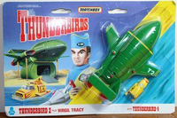 Matchbox TB-002 Thunderbirds 2 Pilot: Virgi Tracy with Thunderbird 4