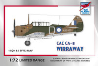 High Planes CAC Wirraway RAAF WWII Kit 1:72