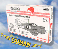 Tasman TM103 CAC CA-13 / CA-19 Boomerang 1:72 Scale Model Kit