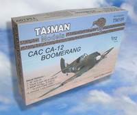 Tasman TM109 CAC CA-12 Boomerang 1:72 Scale Model Kit