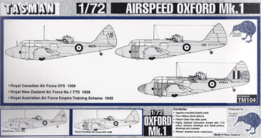 Tasman TM104 Airspeed Oxford Mk.I 1:72 Scale Model Kit