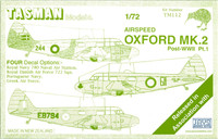 Tasman TM112 Airspeed Oxford Mk.II 1:72 Scale Model Kit