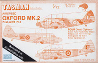 Tasman TM113 Airspeed Oxford Mk.II 1:72 Scale Model Kit
