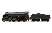 Hornby R3527 SR, 4-6-0 Class N15 Locomotive 'CAMELOT' No. 742 Model Railways 00 Gauge