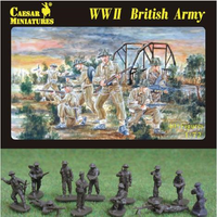 Caesar Miniatures H055 WWII British Army Figures 1:72 Scale