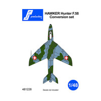PJ Productions Hawker Hunter F58 conversion for Airfix kit Accessories 1:48