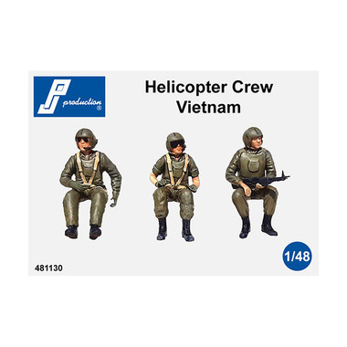 PJ Productions Helicopter crew Vietnam war Figures 1:48 (PJP481130)