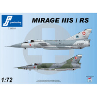 PJ Productions Dassault Mirage IIIS/RS Kit 1:72