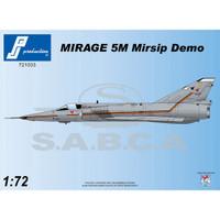 PJ Productions Dassault Mirage 5M MIRSIP Demo Kit 1:72 (PJP721033)