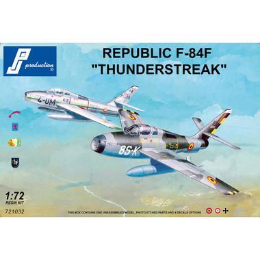 PJ Productions F-84F Thunderstreak Resin Kit 1:72 (PJP721032)