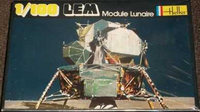 Heller No. 19 LEM Module Lunaire 1/100 Model Kit