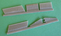 OzMods Scale Models F-111B/C/G Long Wings & Intakes for Arii kit Accessories 1:144