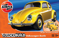 Airfix J6023 QUICK BUILD VW Beetle yellow